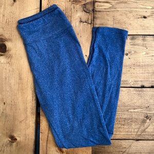 LuLaRoe | Heather Blue OS Leggings